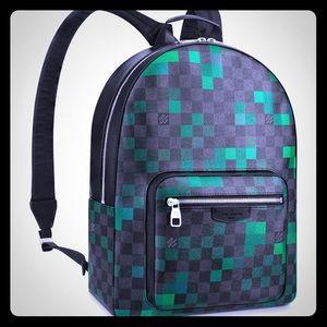 Louis Vuitton *RARE* Damier Pixel Josh Backpack